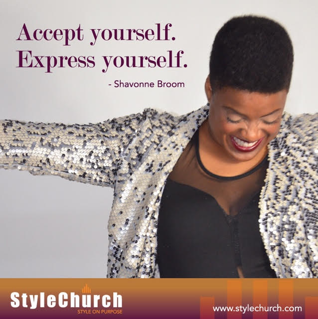 "Shavonne Broom of StyleChurch ""On Courage"" Contributor"